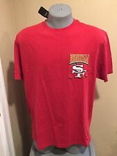 San Francisco 49ers Mens Shirt Majestic Brand NFL - Size XLarge XL Pocket NWT