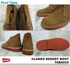 New Clarks Original ** X DESERT  BOOTS ** TOBACCO PREMIUM SUEDE ** UK 9 / US 9.5