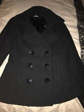Black Button Duffle Coast By South Size 8