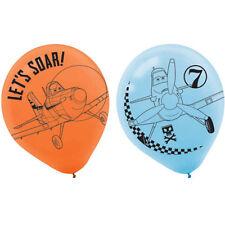 DISNEY PLANES LATEX BALLOONS (6) ~ Birthday Party Supplies Helium Decorations