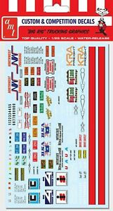 AMT MKA 22  Big Rig Trucking Graphics Decal Set Sheet 1/25