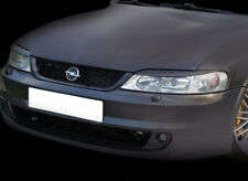 Vauxhall Opel Vectra B Head Light Brows Covers Eyebrows Black ABS Tuning
