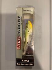 Koppers Live Target Frog 4 1/8� Bright Green