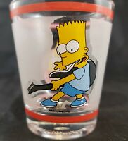 Shot Glass The Simpsons Bart Simpson Shotglass 1997 Guitar Rock
