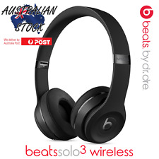 Beats By Dre Solo3 Wireless Headphones In Box - Matte Black