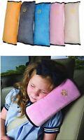 Baby Children Safe Car Seat Belt Shoulder Harness Cushion Sleeping Pad Pillow W