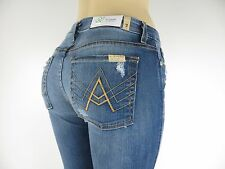 "NWT 7 FOR ALL MANKIND JEANS, ""A"" Pocket, Rinsed Indigo,  Size 29, $215.00"