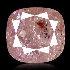 0.45 CT CUSHION SHAPE UNTREATED PINK DIAMOND NATURAL DIAMOND RARE COLLECTION