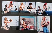 Fleetwood Mac White Album tour concert 1975 lot of 6 private 8x10 photos