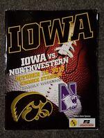 University of Iowa College Football Program vs. Northwestern 2013