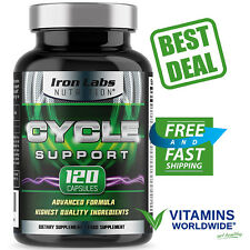 CYCLE SUPPORT IRON Labs Nutrition On Cycle Protection Liver Assist 120 Capsules