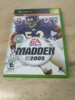 Madden NFL 2005 (Microsoft Xbox, 2004)
