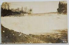 Rppc Dolgeville NY High Falls c1911 to Fultonville Real Photo Postcard 018