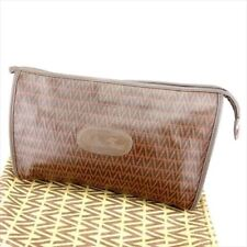 Mario Valentino Clutch bag Brown Woman unisex Authentic Used T6763