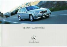 Prospekt Mercedes C-Klasse T-Modelle  S203 12/00 2000