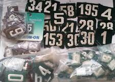 1930's - Present Girl Scout Badge LOT of UNIFORM NUMBERS Numerals