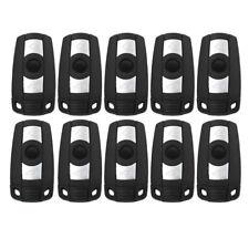 10PCS Remote Key Shell fit for BMW 1 3 5 6 X5 X6 M5 M6 Uncut Blank Key Case 2 Bt