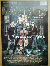 METAL HAMMER 1/2020 APOCALYPTICA on cover CALENDAR 2020 - Ghost/Rammstein