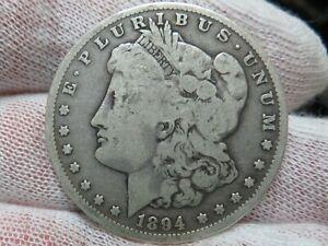 1894 O Silver Morgan Dollar