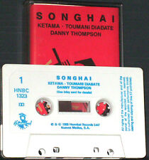 Ketama Toumani Diabate Danny Thompson Songhai CASSETTE ALBUM Flamenco Hannibal