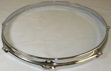 """14"""" 8 Hole 3mm Triple Flanged Chrome Drum Hoop Snare Side between 2.3 & Die Cast"""