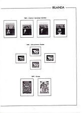 Irlanda Hojas EDIFIL año 1981-86 (BF-784)