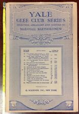 De Animals A-Comin' Yale Glee Club Series 1936 SheetNoteMusic.com
