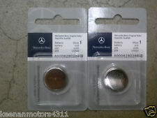 Genuine OEM Mercedes Benz Remote Keyless Key Entry Battery 2-Pack