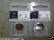 Genuine OEM Mercedes Benz Remote Keyless Key Entry Battery 2-Pack