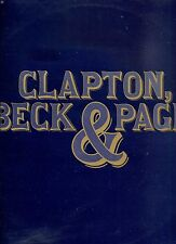 ERIC CLAPTON , JEFF BECK & JIMMY PAGE clapton, beck & page HOLLAND EX LP