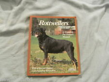 #PP.  DOG OWNER'S  BOOK - ROTTWEILERS