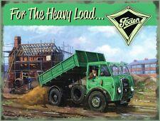 Foden Para The Heavy Carga Letrero de Acero Grande (Og 4030)