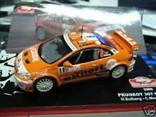 PEUGEOT 307 WRC Solberg Expert Monte Carlo Rallye 2006 #8 IXO Altaya 1:43
