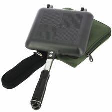 Ngt ancienne sandwich grille-pain tostie maker avec étui carp fishing tackle camping