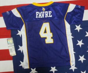 BRETT FAVRE 3T REEBOK JERSEY MINNESOTA VIKINGS NFL FOOTBALL TODDLER PURPLE BABY