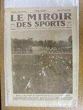 26/10/1926 le miroir des sports-Hebdomadaire Français Pictorial magazine: Nº 0341-B