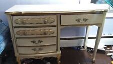 French Vintage Style Desk, some marks from art projects, good quality