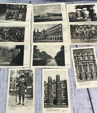 Vintage MINISTRY OF WORKS POSTCARD LOT TOWER OF LONDON, HAMPTON COURT 11 cards