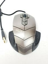 SteelSeries 62006 World of Warcraft MMO Laser Gaming Mouse TESTED & WORKS!