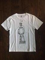 Moschino Sculpture Logo White T-Shirt EU Medium (DUSTBAG INCLUDED)