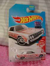 '64 LINCOLN CONTINENTAL✰white✰ #5 TARGET RED EDITION✰2017 Hot Wheels✰Factory Set