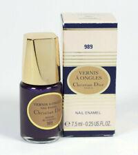 Dior Vernis A Ongles Nail Enamel Polish 989 Blueberry