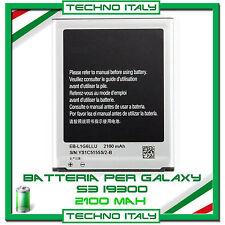 BATTERIA PER SAMSUNG PER i9300 GALAXY S3 2100mAh CAPACITA' ORIGINALE