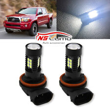 For Toyota Tacoma 2005 - 2011 Fog Lights bulbs 6000K 80W LED Bulbs 9145 9140 H10