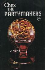 CHEX the Partymakers Recipes for Year Round Celebrations Using Chex Cereals Vtg