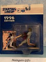 Starting Lineup 1996 Edition MLB Barry Bonds Swinging Stars Figure And Card New