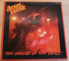April Wine, The Nature of the Beast LP, 1981, Capitol, 1C 064-86 296