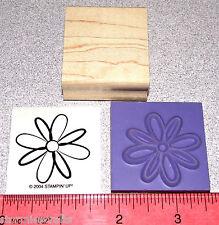 Stampin Up Flower Blossom Stamp Single Floral Design Blossom Nice colored in