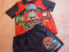 Boys Size 1 Thomas The Tank Engine Summer Shorty PJs - Great value NEW! FREE P+H
