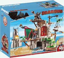 Nouveau Playmobil How to Train Your Dragon 9243 Berk île forteresse-envoi rapide